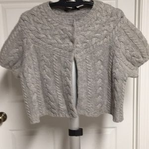 NWT BCBG MAXAZRIA SZ LARGE CAPE SWEATER
